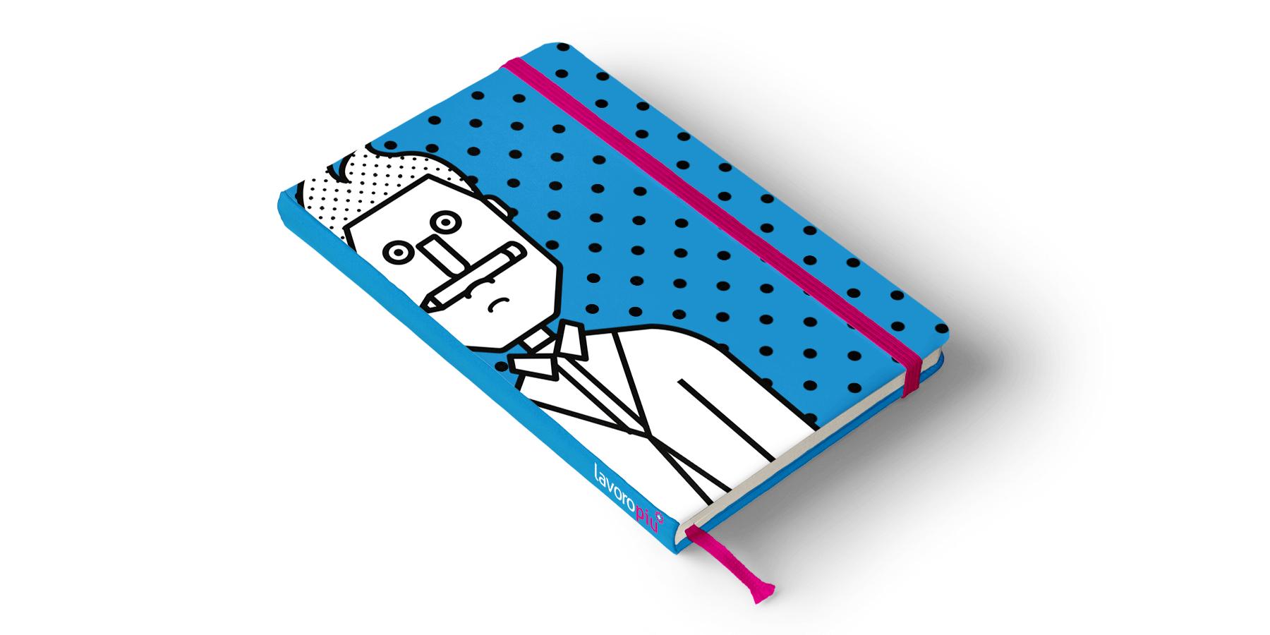 Lavoro Più Notebook- Blossom