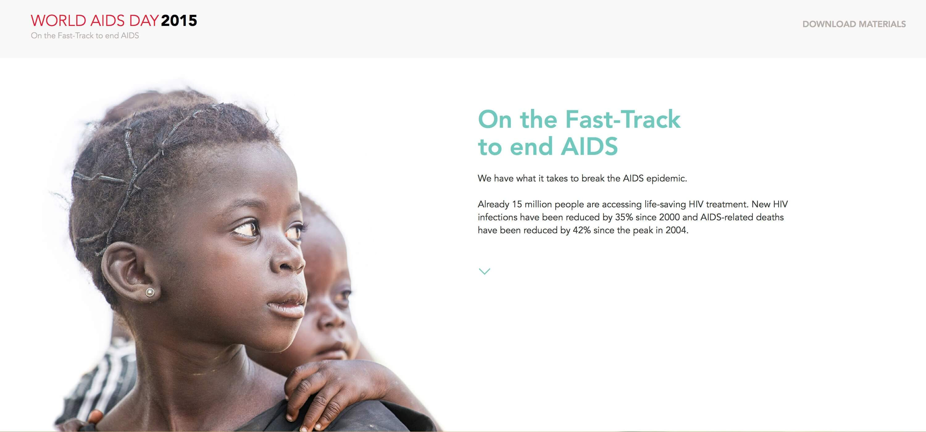 Fast Track the AIDS response - UNAIDS