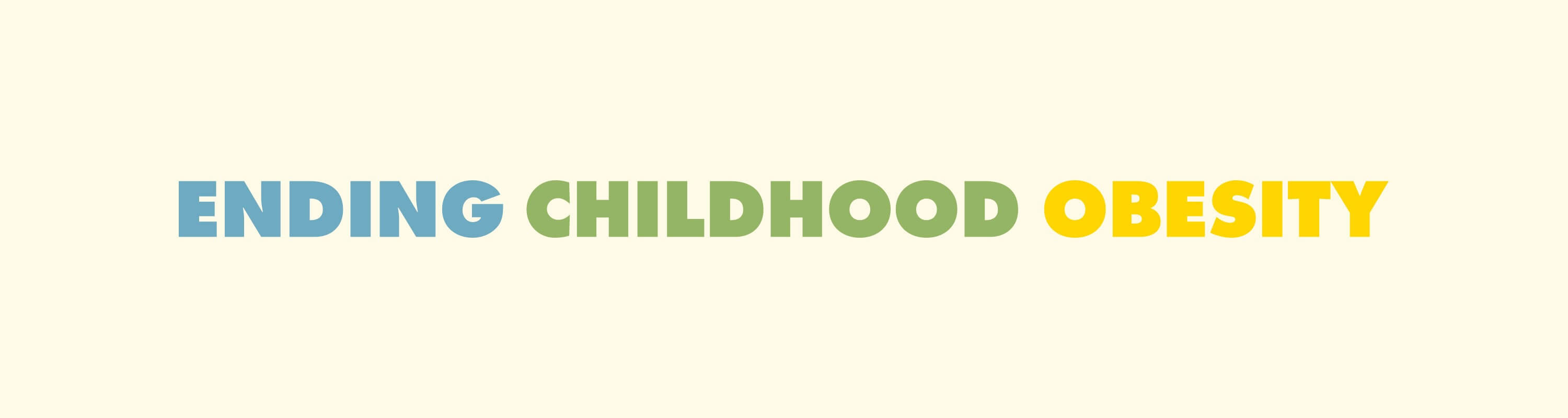 World Health Organization - Ending Childhood Obesity - Blossom