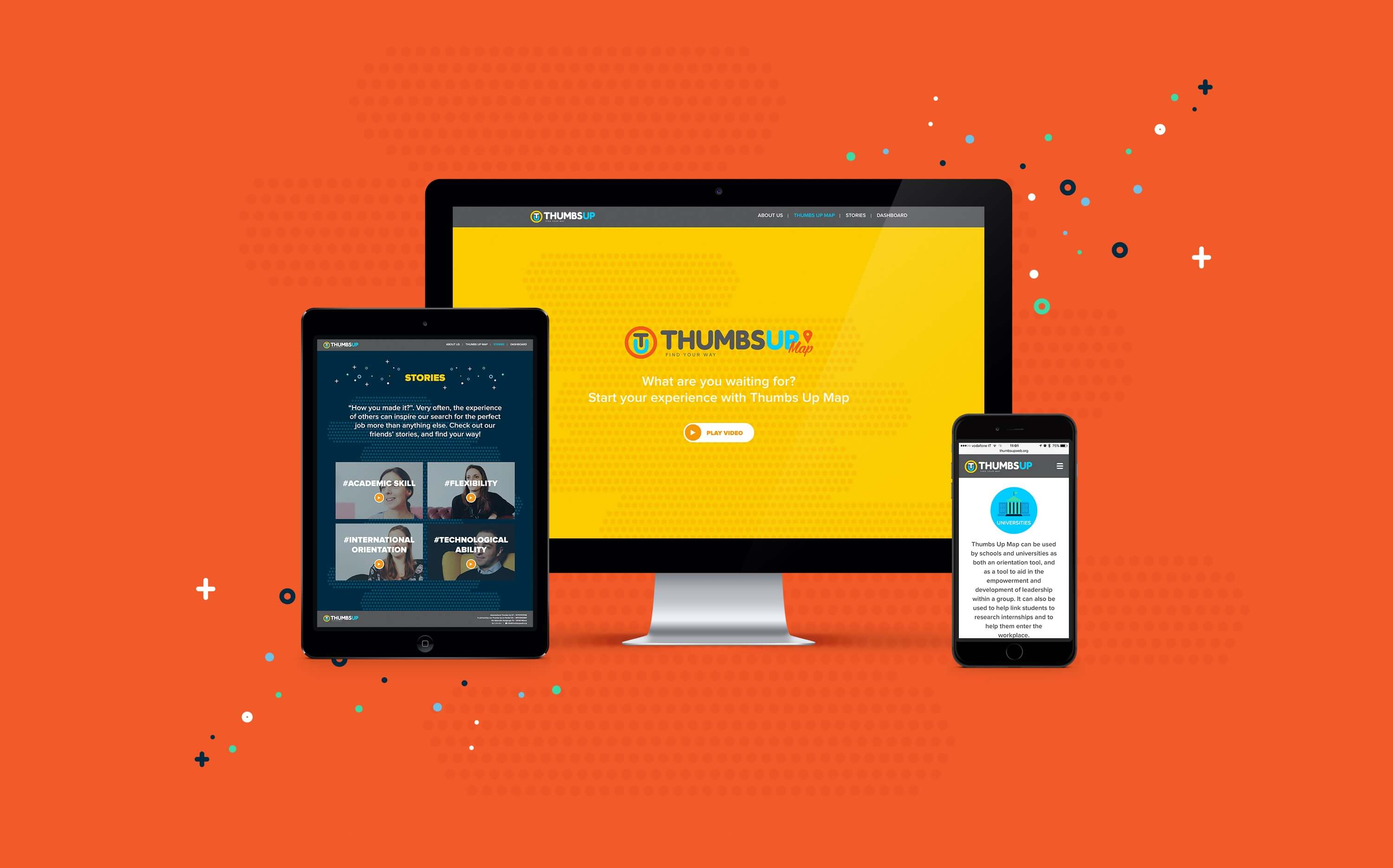 ThumbsUp Website - Blossom
