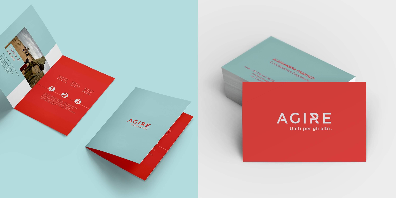 AGIRE Business Card - Blossom