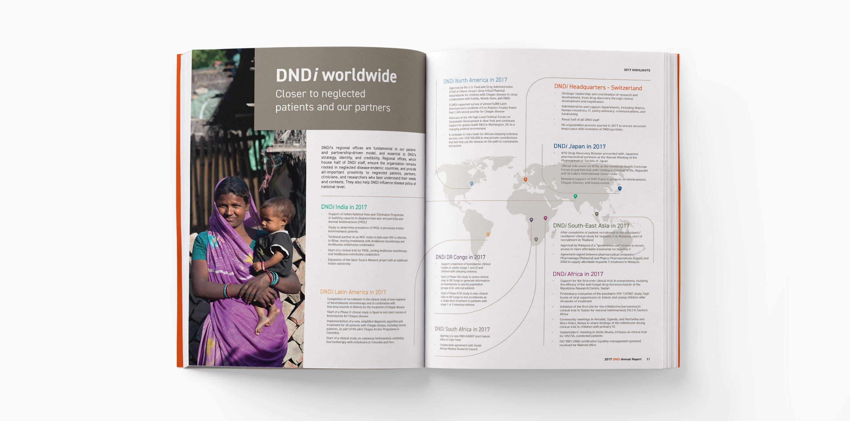 DNDi Annual Report- Blossom